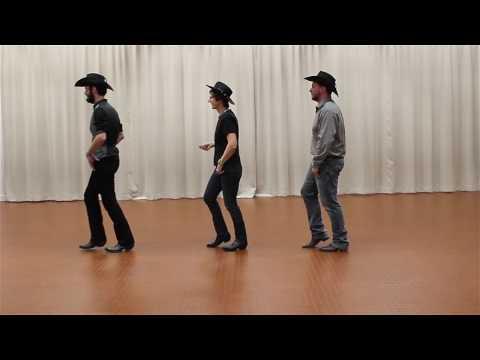 COWBOY GIRL Line Dance - danse et compte