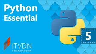 Python Essential. Урок 5. Последовательности в Python