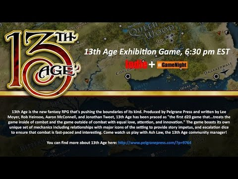 Indie+ Demos: 13th Age with Ash Law