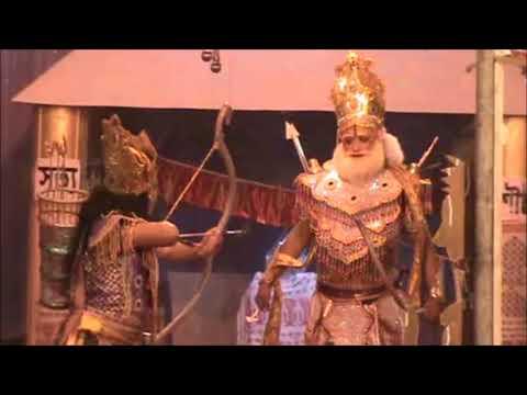 অভিমুণ্যু বধ ভাওনাত কৌৰব আৰু পাণ্ডৱৰ যুদ্ধ  Part Of Bhaona - Abhimunyu Bodh