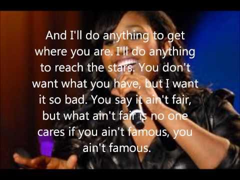 Jazmine Sullivan Famous Lyrics