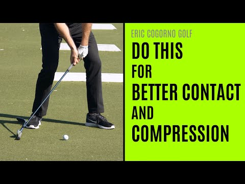 GOLF: Square The Clubface Earlier For Better Contact And Compression