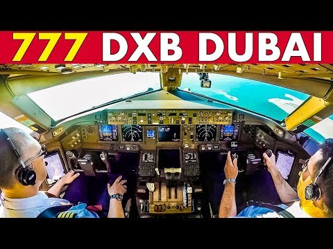 [video] Piloting The Boeing 777 Out Of Dubai Int'l