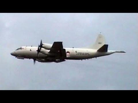 Royal Netherlands Navy Lockheed P-3C Orion - Flypast @ Open Dagen Volkel 2004