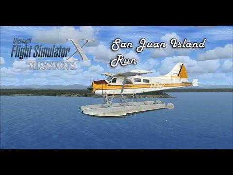 FSX/Flight Simulator X Missions: San Juan Island Run