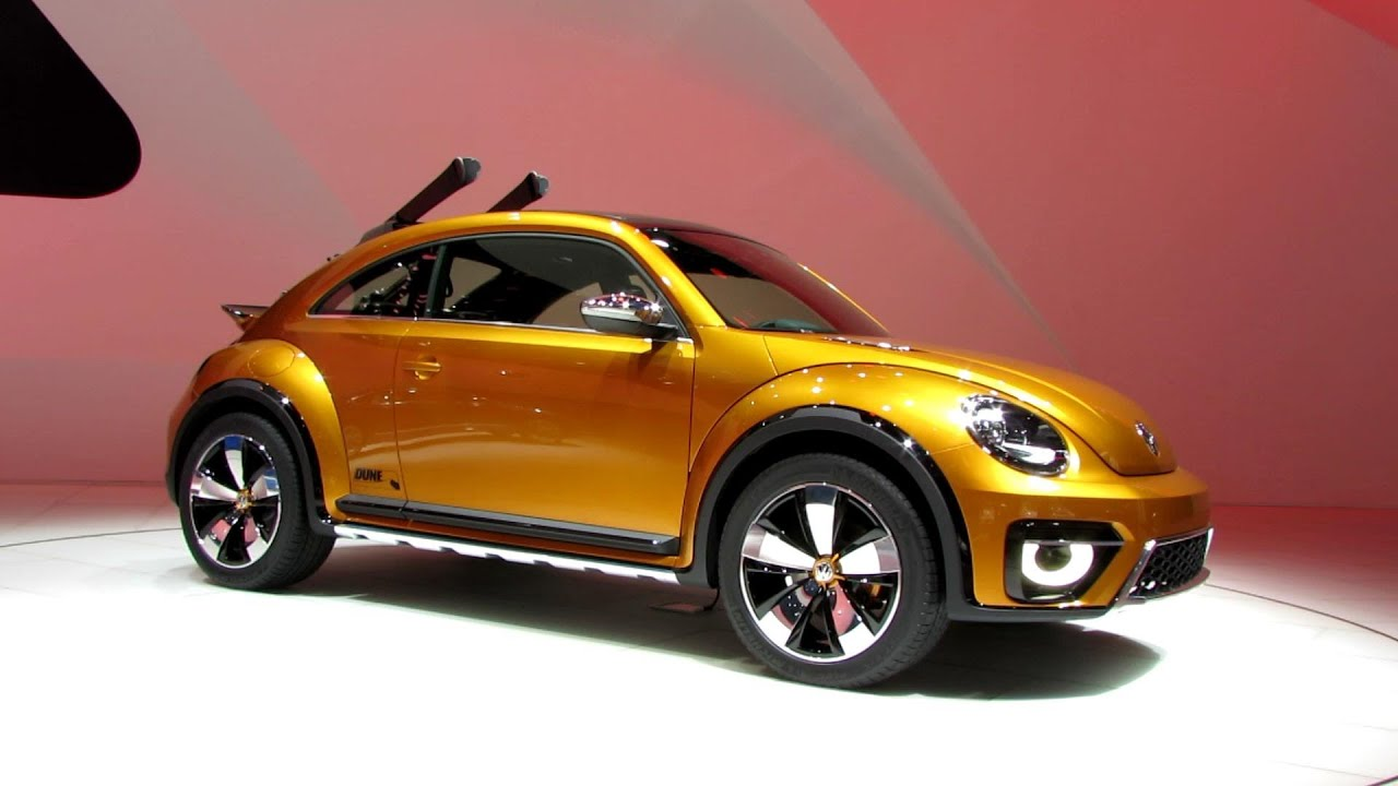 2015 Volkswagen Beetle Dune Exterior And Interior