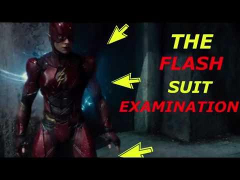 The Flash Justice League Armor Examination