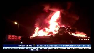 The fire at Durban's Christian Centre continues to rage