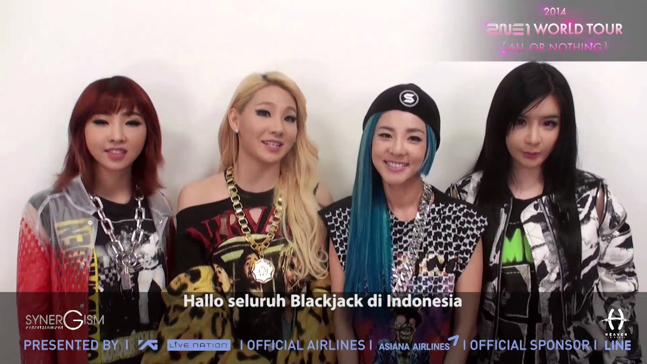 2ne1 greeting indonesian blackjack youtube 2ne1 greeting indonesian blackjack m4hsunfo
