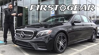 First Gear - 2017 Mercedes-Benz AMG E 43 E-Class 4MATIC - Review and Test Drive(You won't want to miss this video review of the 2017 Mercedes-Benz AMG E 43 4MATIC. Get a close look at the stylish interior before going on a test drive ..., 2017-01-30T20:48:12.000Z)