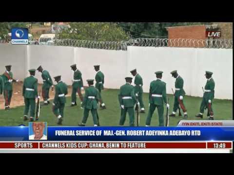 Funeral Service Of Major Gen Robert Adeyinka Adebayo Rtd Pt 15