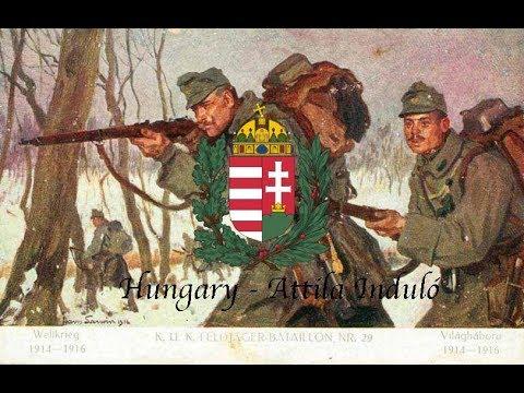 Kingdom of Hungary(1920-1946) ¨Attila Induló¨