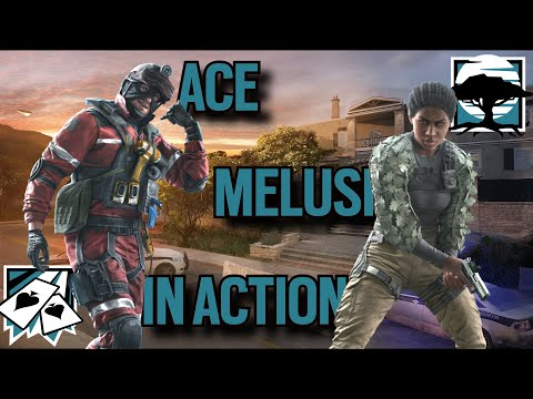 *NEW* ACE And MELUSI Gameplay: Rainbow Six Siege Operation Steel Wave