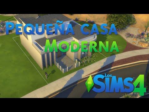Los sims 4 reviews de lyna 3 funnydog tv for Casa moderna lyna