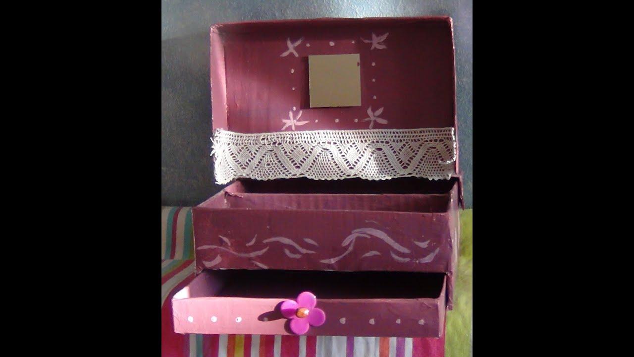 Comment faire une boite a bijoux fashion designs - Comment faire une boite en carton facile ...