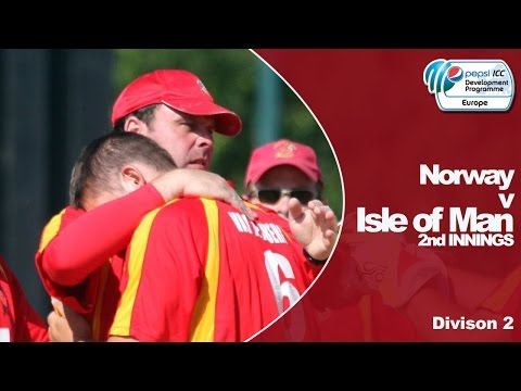 Isle of Man vs Norway - Isle of Man Innings - Pepsi ICC Europe Division 2