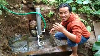 pompa air tanpa listrik mampu sedot air ketinggian 50 meter