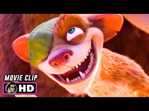 ICE AGE: DAWN OF THE DINOSAURS Clip - Buck Battles Rudy (2009)