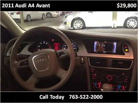 2011 audi a4 avant used cars golden valley mn youtube for Poquet motors golden valley mn