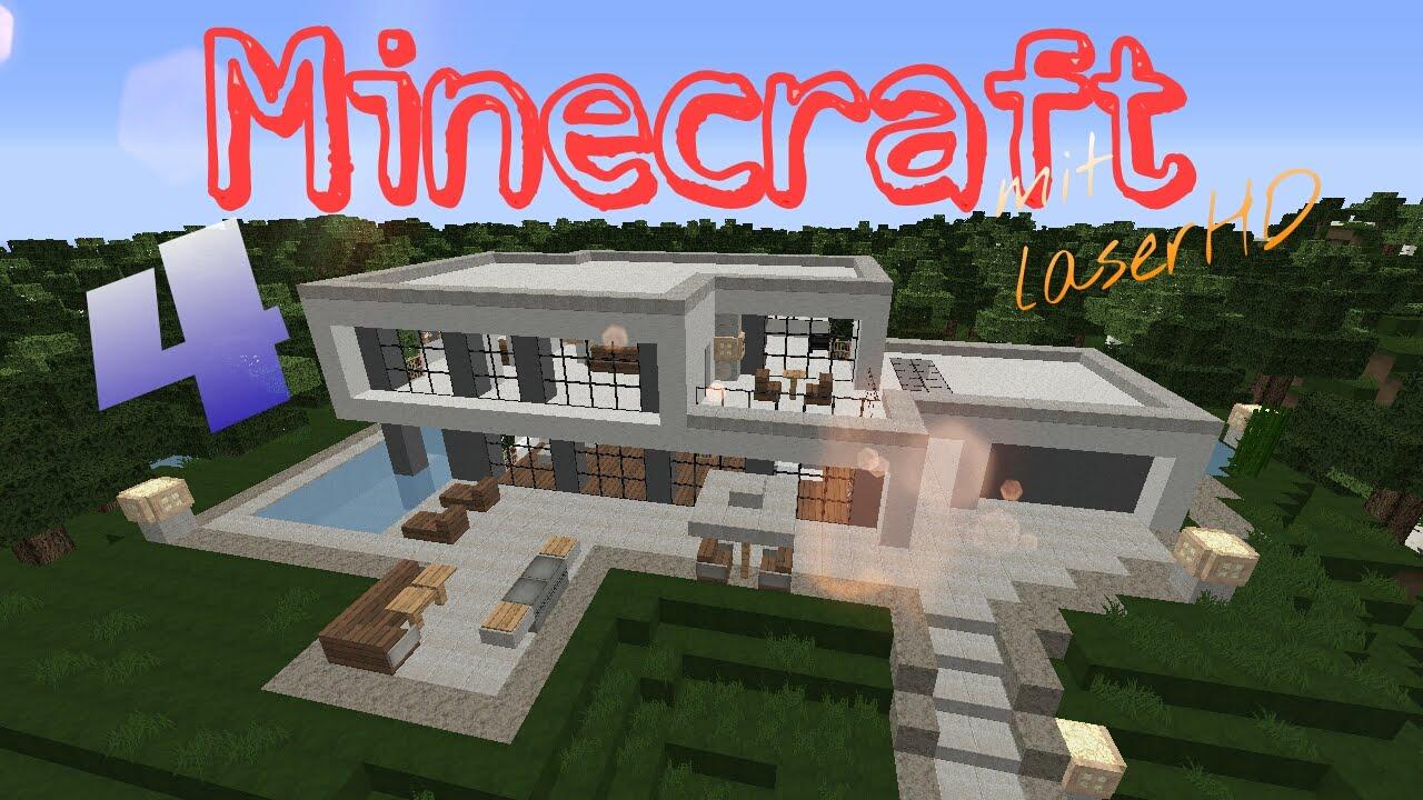 Ein modernes haus bauen let s play minecraft a la gronkh - Minecraft modernes haus bauen ...