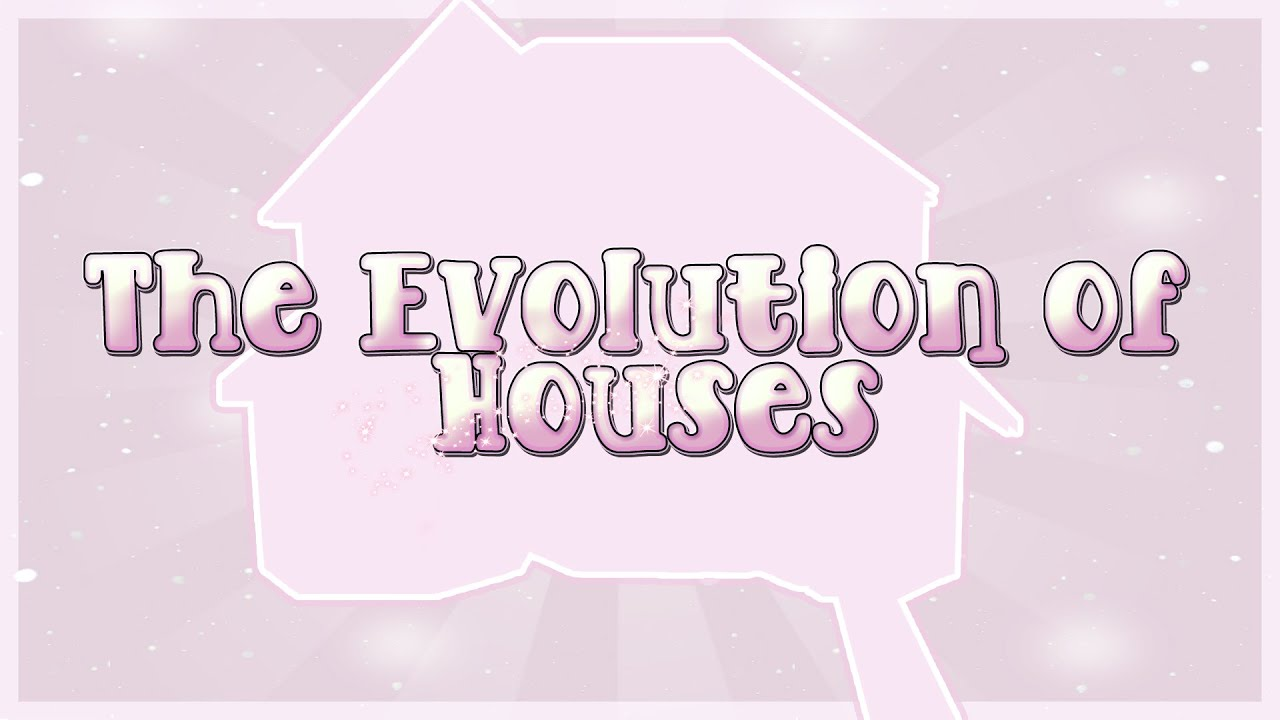 The Evolution Of Houses: The Final (Sims 4) Speed Build