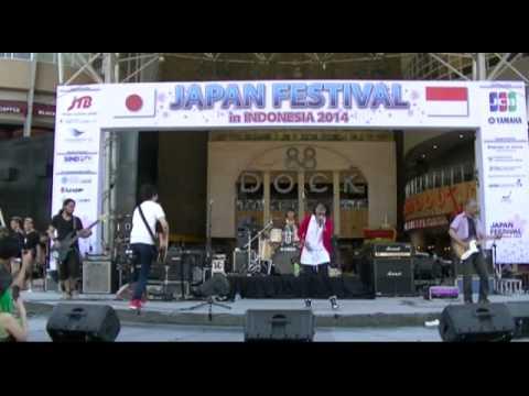Akairo - Blue Bird (Ikimono Gakari cover) @ Japan Festival in Indonesia