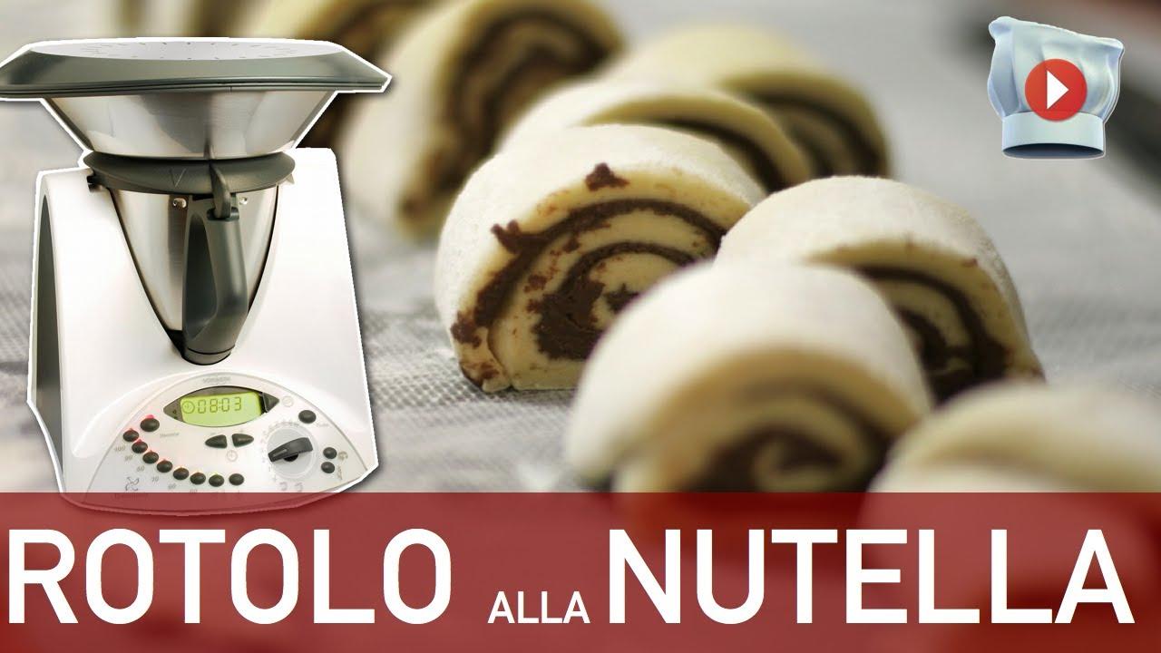 Preferenza Rotolo alla Nutella Bimby - YouTube UD66