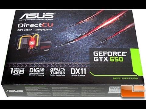 Видеокарта. Asus GeForce GTX 650