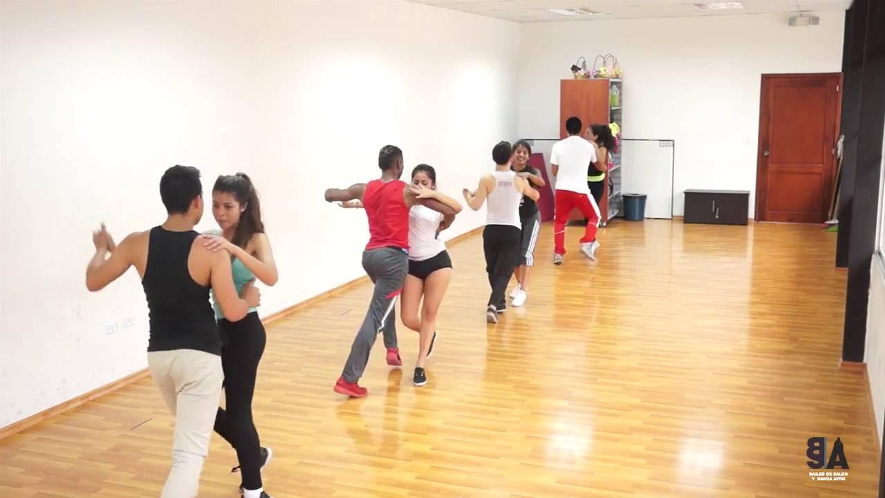 Coreografía Salsa Baile De Salon