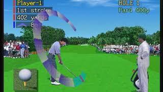 japanese panasonic 3do the masters vr golf game t&e augusta ga