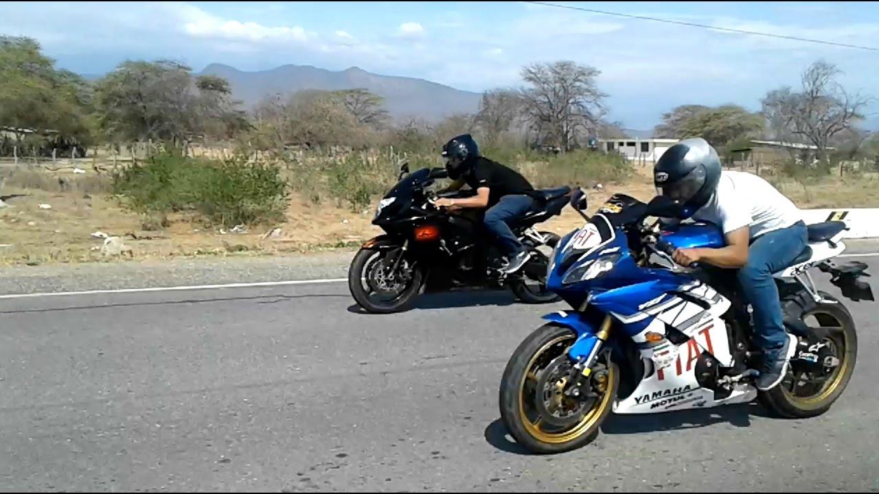 Suzuki GSXR 600 VS Yamaha R6 /Ducati 848 vs kawasaki 800/ Kawasaki