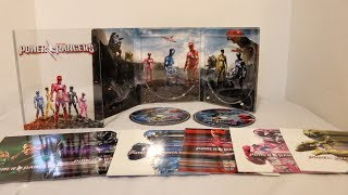 Saban's Power Rangers Movie Limited Edition Blu-ray Unboxing!