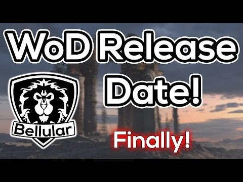 Warlords Of Draenor Release Date REVEALED!