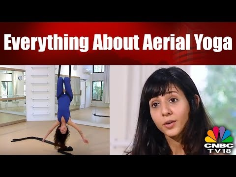 Everything About Aerial Yoga | Antigravity YOga | Stay Fit With CNBC TV18 thumbnail