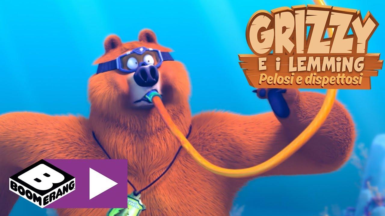 Download In fondo al mare   Grizzy e I Lemming   Boomerang