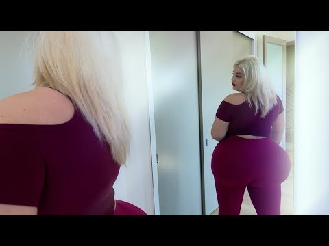 Woman Trying for World's Biggest Butt