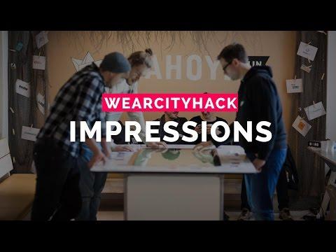 WearCityHack 2015 Impressions, Berlin, December 5.-6.