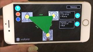 Math Shapes Augmented Reality Sample