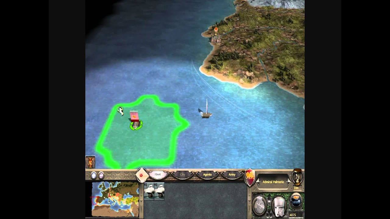 Medieval 2: Total War - How to get to America - YouTube
