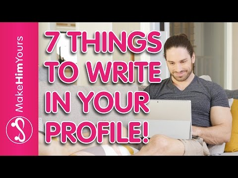 How To Build A Great Online Dating Profile For Men from YouTube · Duration:  7 minutes 52 seconds