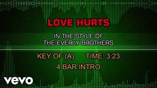 Everly Brothers - Love Hurts (Karaoke)