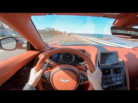 2020 Aston Martin DB11 Volante – POV Test Drive by Tedward (Binaural Audio)