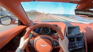 2020 Aston Martin DB11 Volante - POV Test Drive by Tedward (Binaural Audio)