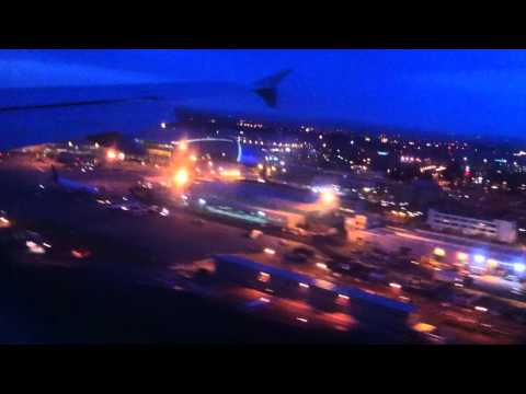 LANDING IN DUBLIN WITH EIRE LINGUS