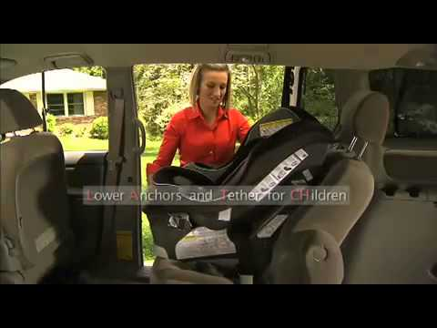Graco My Ride 65 Convertible Car Seat Installation Forward Facing Using A LATCH