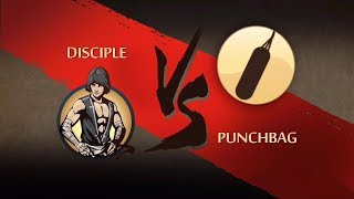 Shadow fight 2 disciple vs punching bag
