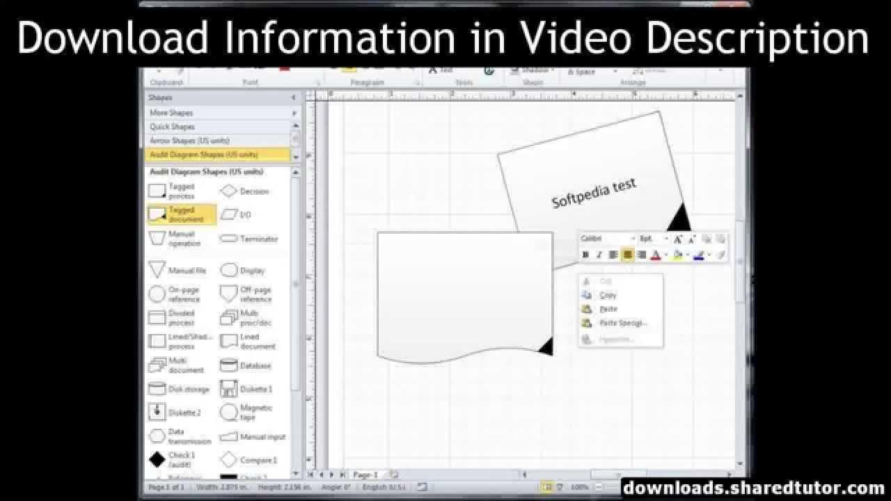Microsoft Visio 2010 Download Free