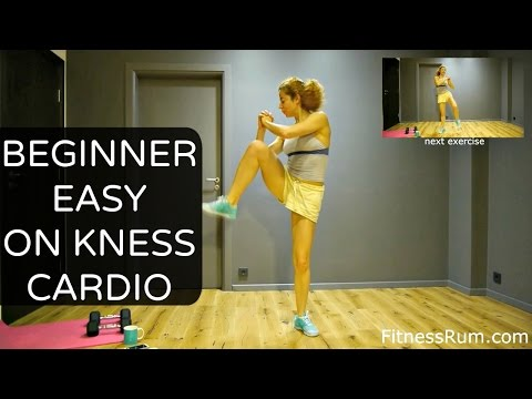 RU46 30 Minute Tabata Low Impact Cardio Workout No Jump Easy On Knees Exercises Level2