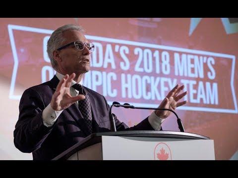 Canada unveils men's hockey team for 2018 Winter Olympics