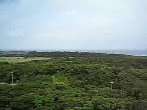 多良間島の八重山遠見台(西側の景色)